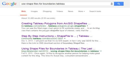 Google Tableau